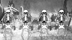 Silly Symphonies - The Skeleton Dance