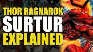 Thor Ragnarok- Surtur Explained