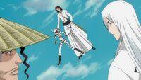 Ukitake & Kyōraku Confronting Starrk & Lilynette