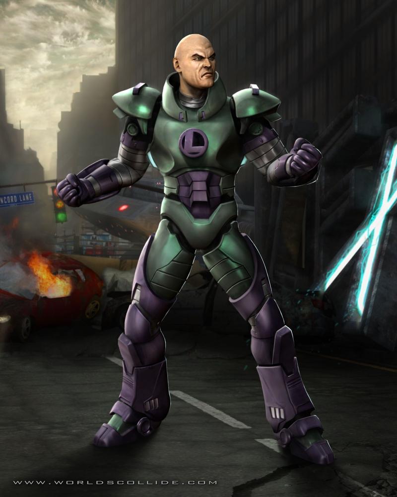 lex luthor mortal kombat villains wiki fandom