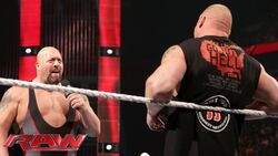 Brock Lesnar and Big Show