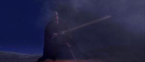 Count Dooku sand