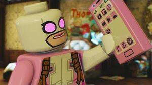 LEGO Marvel Super Heroes 2 - Gwenpool Bonus MIssion 1 - Panic at the Picnic (Squirrel Girl Unlock)