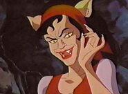 Lena partially transformed
