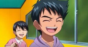 Tomoo laughing