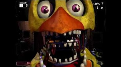 Withered Chica Jumpscare