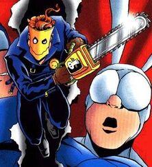 Chainsaw-vigilante