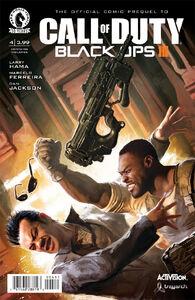Comic Prequel Cover Issue4
