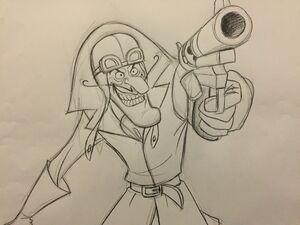 DD concept art gun