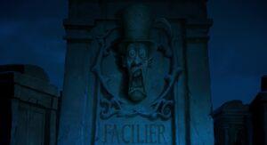 Facilier's gravestone