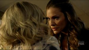 Goddess Threatens Lind (Lucifer)
