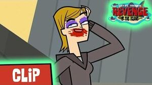 TOTAL DRAMA REVENGE OF THE ISLAND Jo wears make-up (S4 Ep