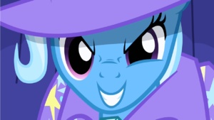 Trixie's mean look