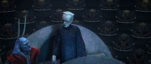 Chancellor Palpatine exchanges