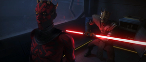 Darth Maul aware