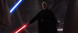 Darth Tyranus activates