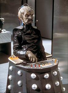 Davros in Genesis of the Daleks.