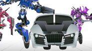 SIDEWAYS Transform - Short Flash Transformers Series