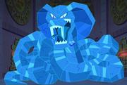Blue Heart Stone Cobra