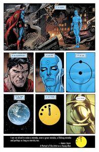 Doctor Manhattan meet Superman