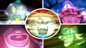 Luigi's Mansion - All Portrait Ghosts Bosses (No Damage)