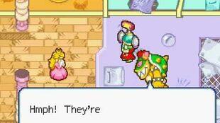 M&L SS - Luigi dresses up as Peach(M&L Greatest Moments series)
