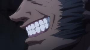 Uvogin's grin