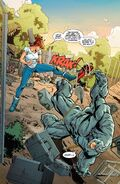 Aleksei Sytsevich (Earth-616) ,Anton Miguel Rodriquez (Earth-616) and Mary Jane Watson (Earth-616) from Amazing Mary Jane Vol 1 5 0001