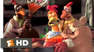 Chicken Run (2000) - Flight School Scene (4 10) Movieclips