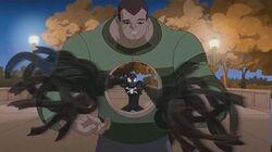 Spectacular Spider-Man (2008) Black Suit Spider-Man vs Sinister Six part 3
