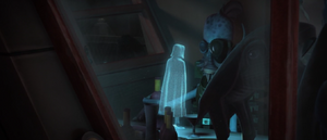 Count Dooku cloaked