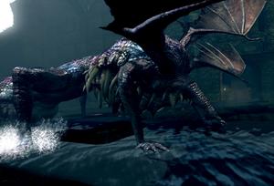 Gaping Dragon Emerges