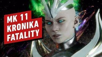 Mortal Kombat 11 Kronika Fatality in 4K