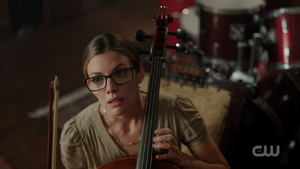 Season 1 Episode 2 A Touch of Evil Ms. Grundy playing her cello