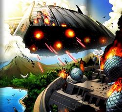 Skrull Battleship (Nova v3, 18)