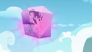 Starlight frozen in crystal block S5E26