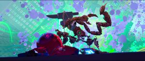 Anvil falls on Scorpion