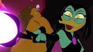 DuckTales - Magica DeSpell Vs The Duck Family (Clip)