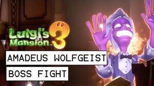 Luigi's Mansion 3 Amadeus Wolfgeist Boss Fight