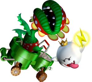 Petey Piranha and King Boo - Mario Kart Double Dash