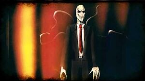 "Slender Man ""Pathetic humans"""