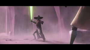 Star Wars The Clone Wars - Quinlan Vos & Obi-Wan Kenobi vs