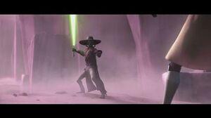 Star Wars The Clone Wars - Quinlan Vos & Obi-Wan Kenobi vs
