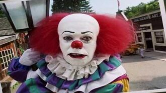 """Stephen King's IT (1990) - Pennywise """"Mike's Book Scene"""""""