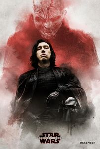 TLJ Snoke and Kylo Ren Poster