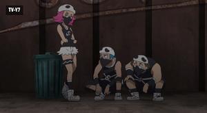Team Skull Alleyway