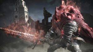 Dark Souls 3 Ringed City Slave Knight Gael Boss Fight (4K 60fps)