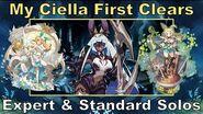 Dragalia Lost - My Ciella First Clears Expert & Standard Solos
