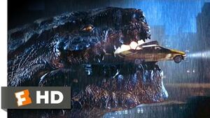 Godzilla (1998) - We're in His Mouth! Scene (9 10) Movieclips