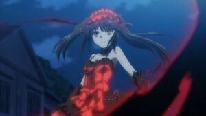 Kurumi in the dark